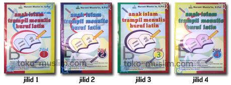 Anak Islam Terampil Menulis Huruf Latin