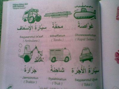 Pelajaran Bahasa Arab Untuk Anak-anak seri 1