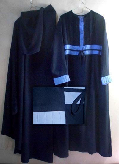 Baju Setelan Akhwat Gamis Jilbab Sebetis Cadar Lepas