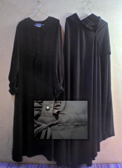 Baju setelan akhwat gamis jilbab cadar rit toko Baju gamis cadar