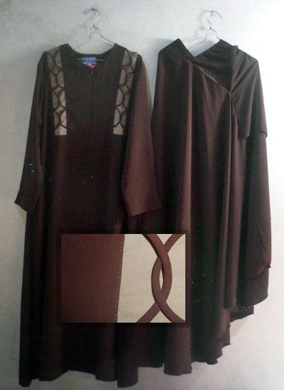 Baju Setelan Akhwat Gamis Jilbab Cadar Rit Toko