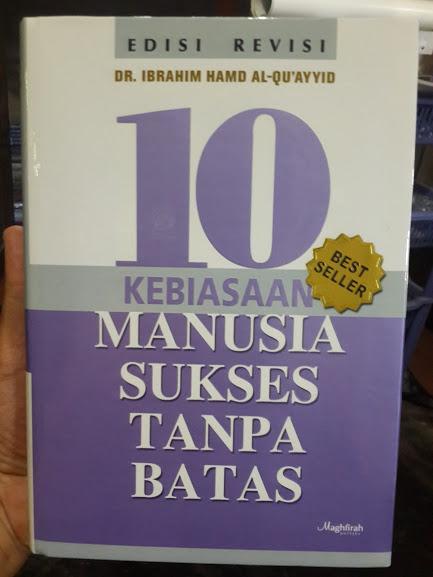 Buku 10 Kebiasaan Manusia Sukses Tanpa Batas Cover