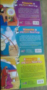 10 sahabat nabi yang dijamin masuk surga 1set 3jilid buku anak cover 3