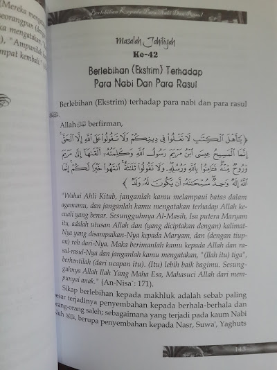 Buku 100 Keyakinan Jahiliyah Yang Ditentang Nabi Isi