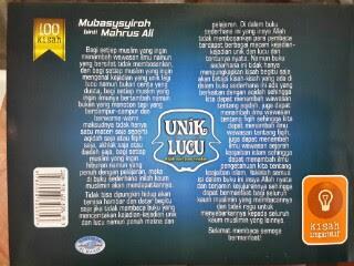 Buku 100 Kisah Unik Dan Lucu Dari Para Teladan Cover 2