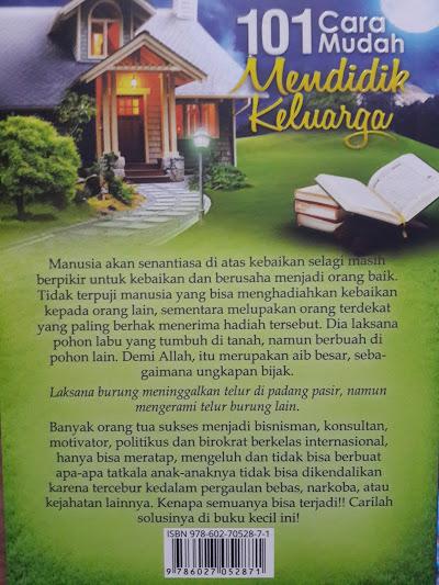Buku 101 Cara Mudah Mendidik Keluarga Cover 2