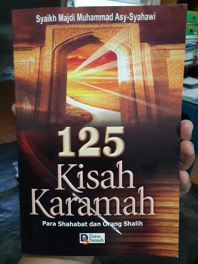Buku 125 Kisah Karamah Para Shahabat Dan Orang Shalih Cover