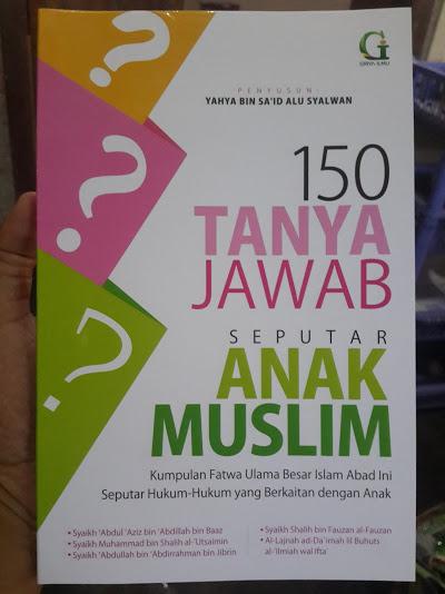 Buku 150 Tanya Jawab Seputar Anak Muslim Cover