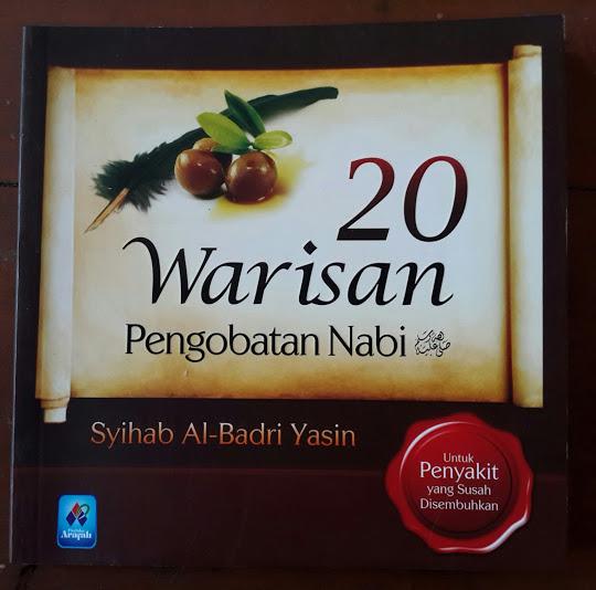 Buku 20 Warisan Pengobatan Nabi Cover