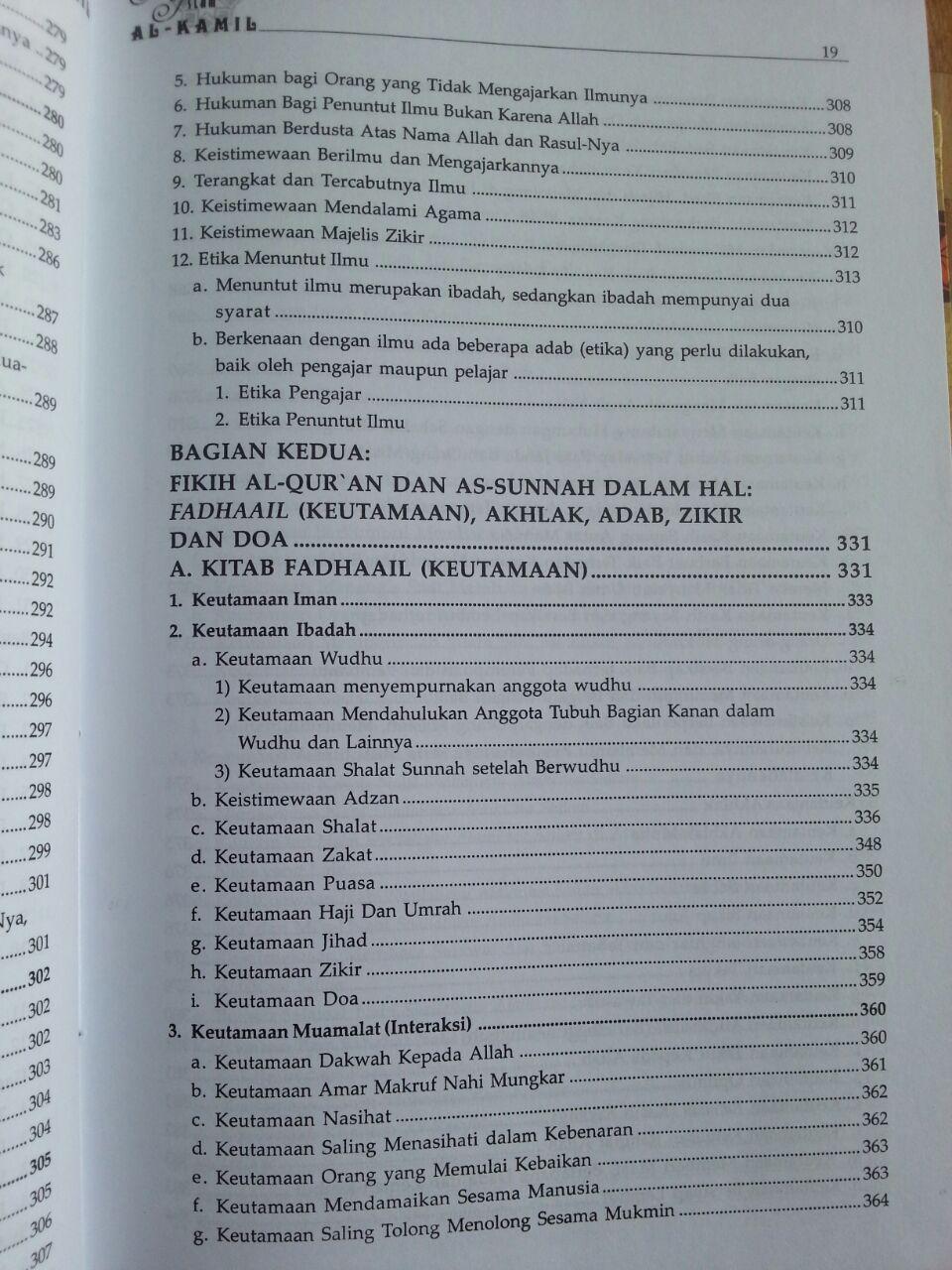 Buku Ensiklopedi Islam Al-Kamil isi 2
