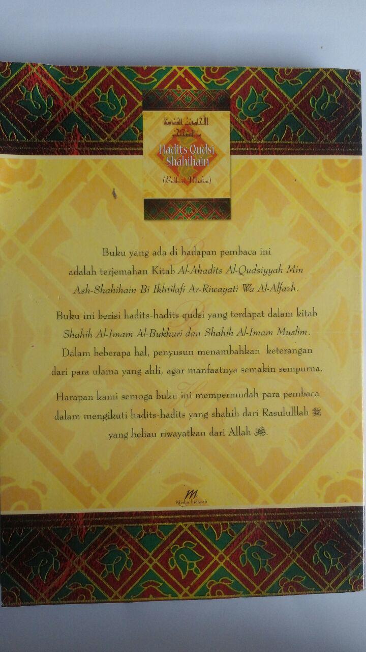 Buku Hadits Qudsi Shahihain (Shahih Bukhari Dan Muslim) cover