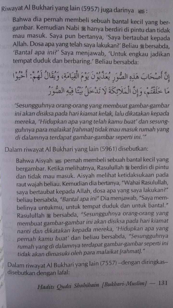 Buku Hadits Qudsi Shahihain (Shahih Bukhari Dan Muslim) isi 3