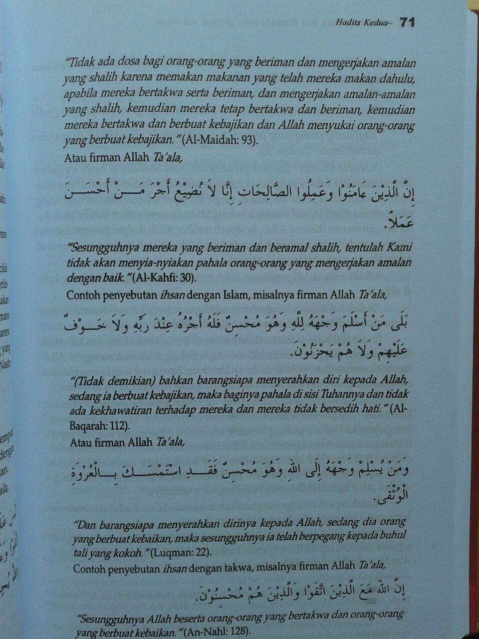 Buku Panduan Ilmu Dan Hikmah (Jami'ul Ulum Wal Hikam) isi 2