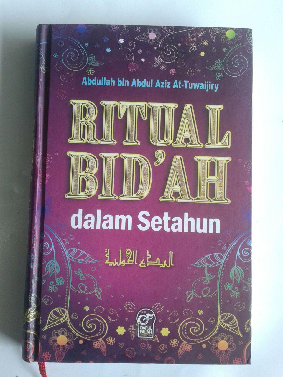 Buku Ritual Bidah Dalam Setahun cover 2