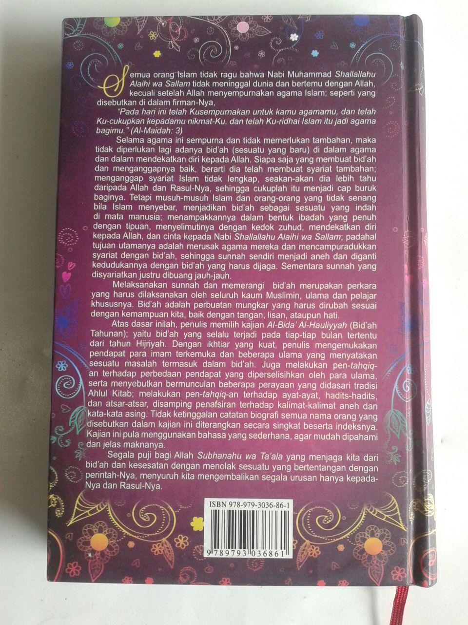 Buku Ritual Bidah Dalam Setahun cover