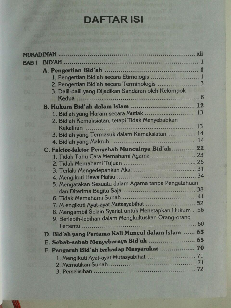 Buku Ritual Bidah Dalam Setahun isi 2