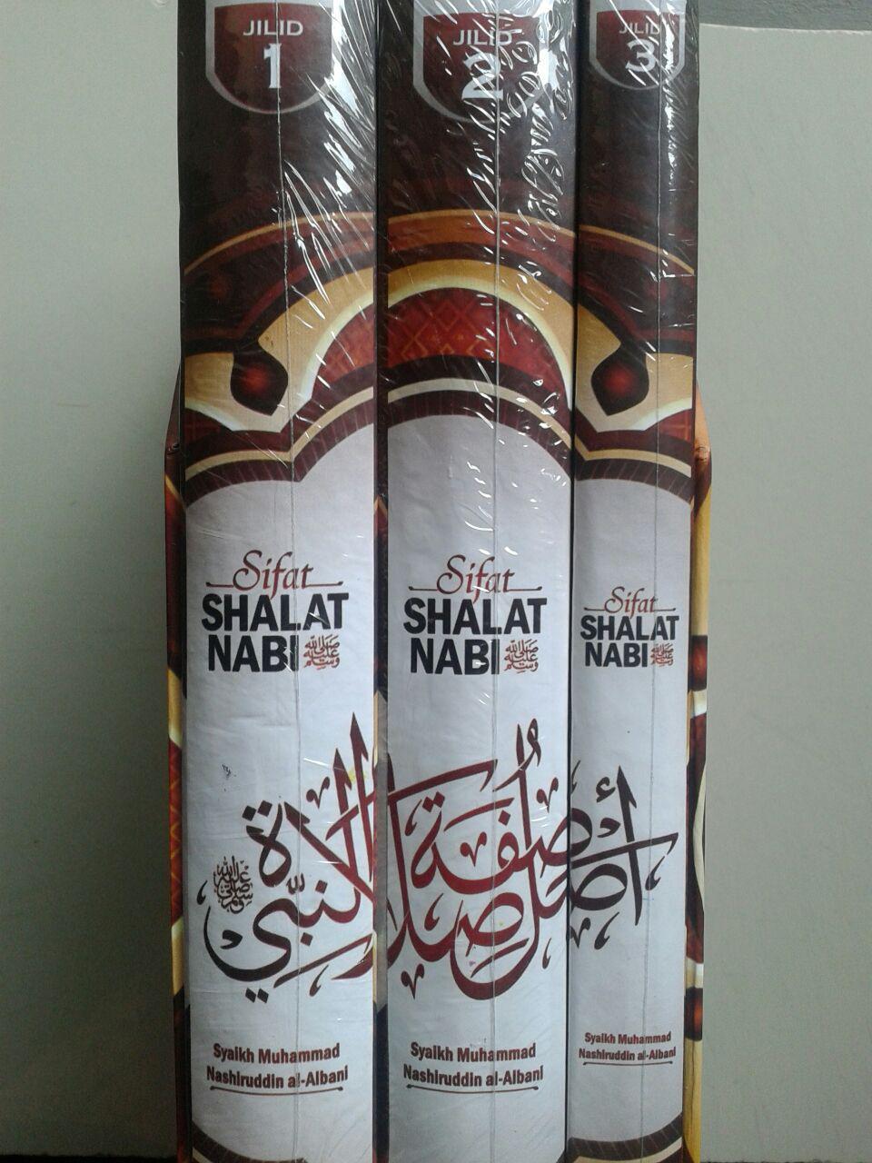 Buku Sifat Shalat Nabi Edisi Lengkap 3 Jilid cover 2