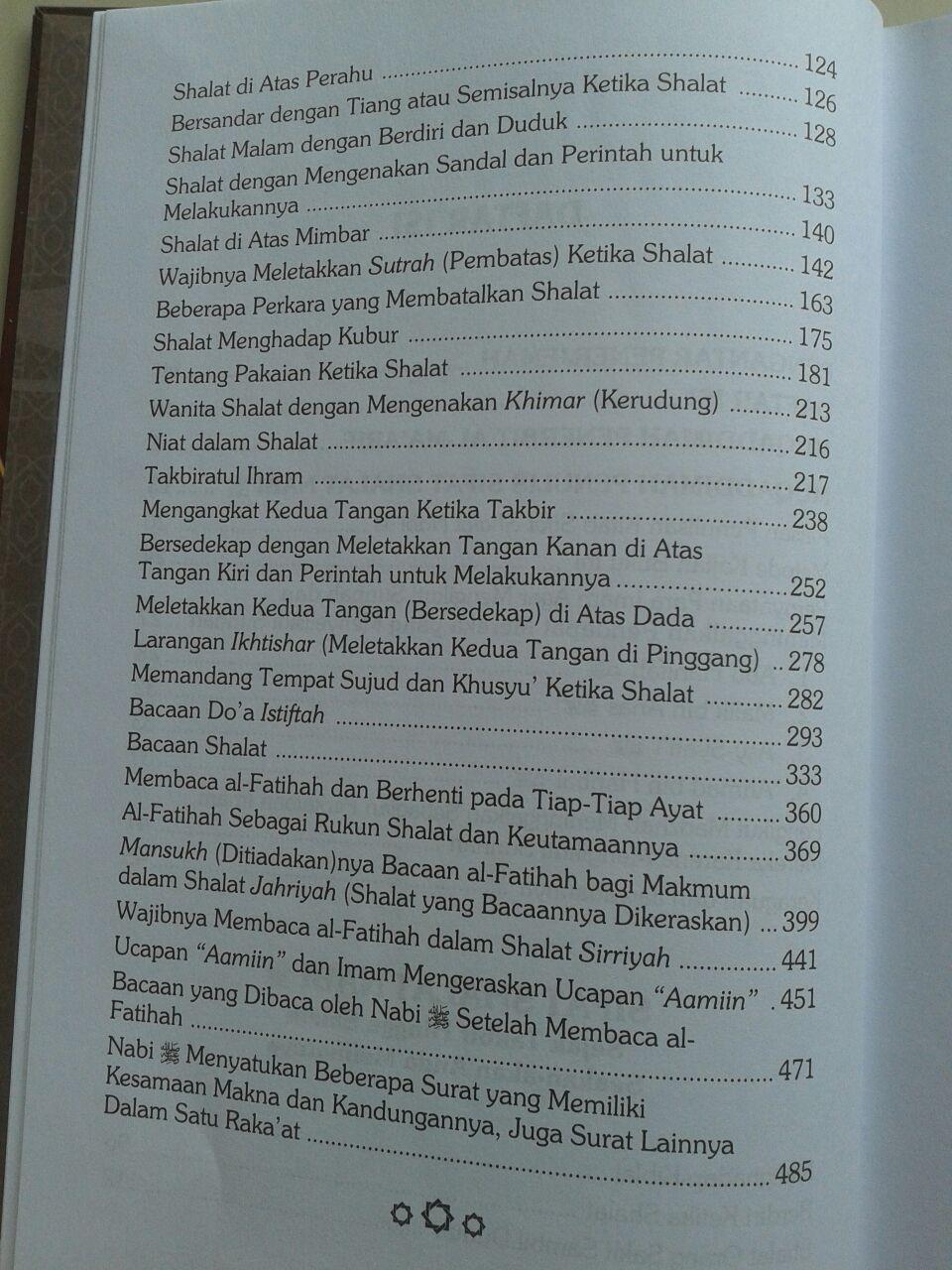 Buku Sifat Shalat Nabi Edisi Lengkap 3 Jilid isi 2