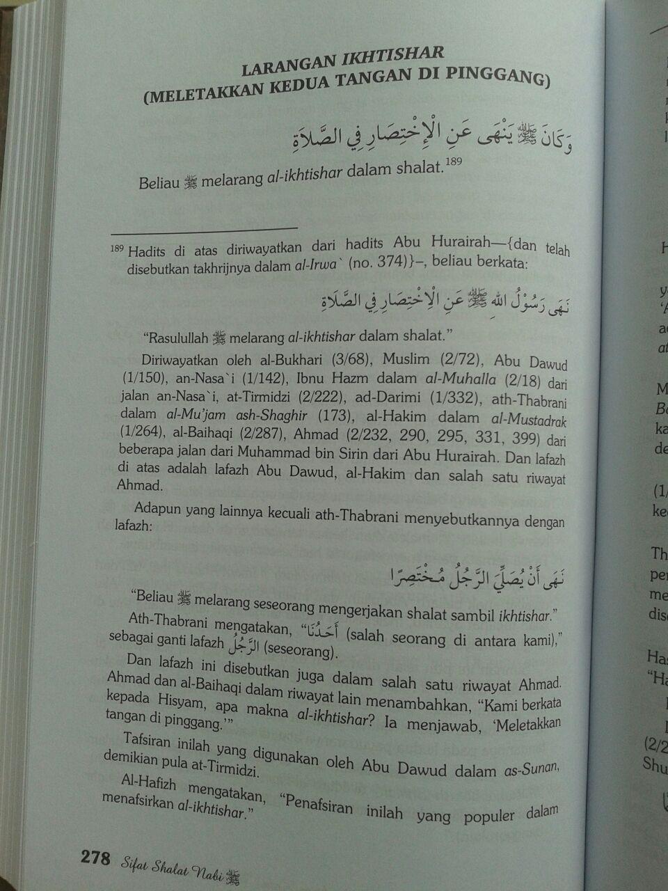 Buku Sifat Shalat Nabi Edisi Lengkap 3 Jilid isi 3