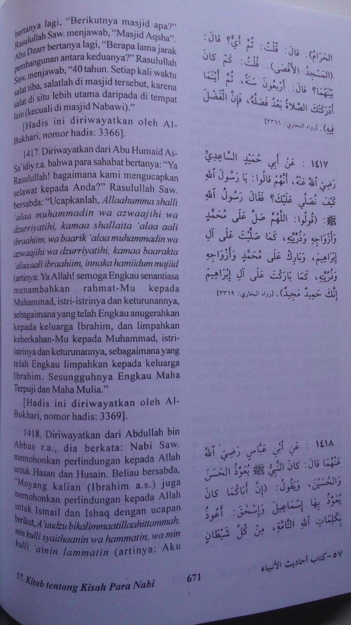 Ringkasan hadis Shahih Bukhari isi 4
