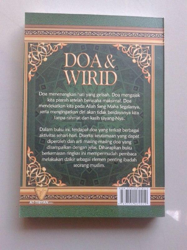 Buku Hisnul Muslim Doa & Wirid Buku Dzikir Paling Ringkas cover 2