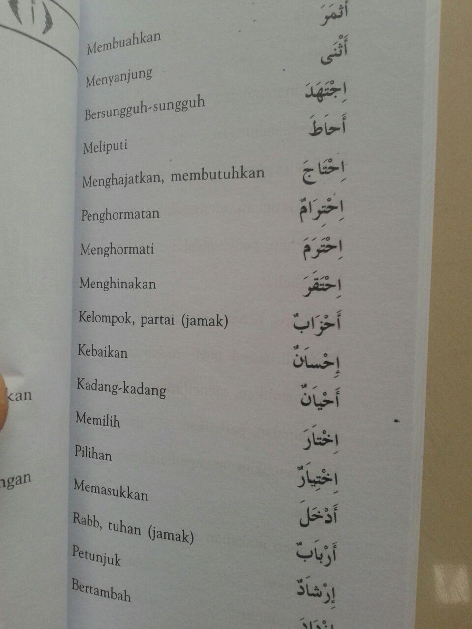 Kamus Al-Mufradat 3000 Kata Yang Sering Muncul Dalam Kitab Gundul isi 2