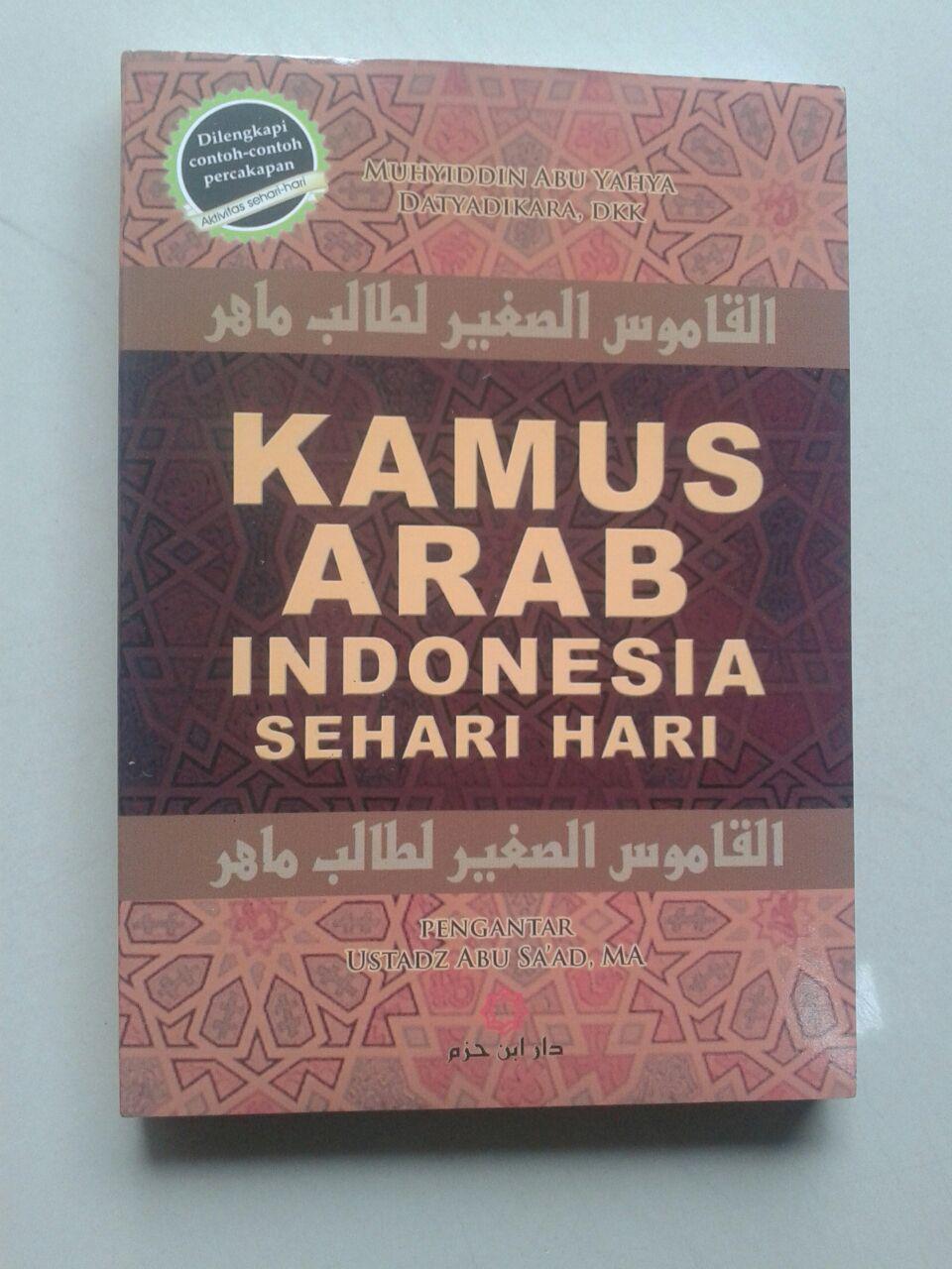 Kamus Arab Indonesia Sehari-Hari cover