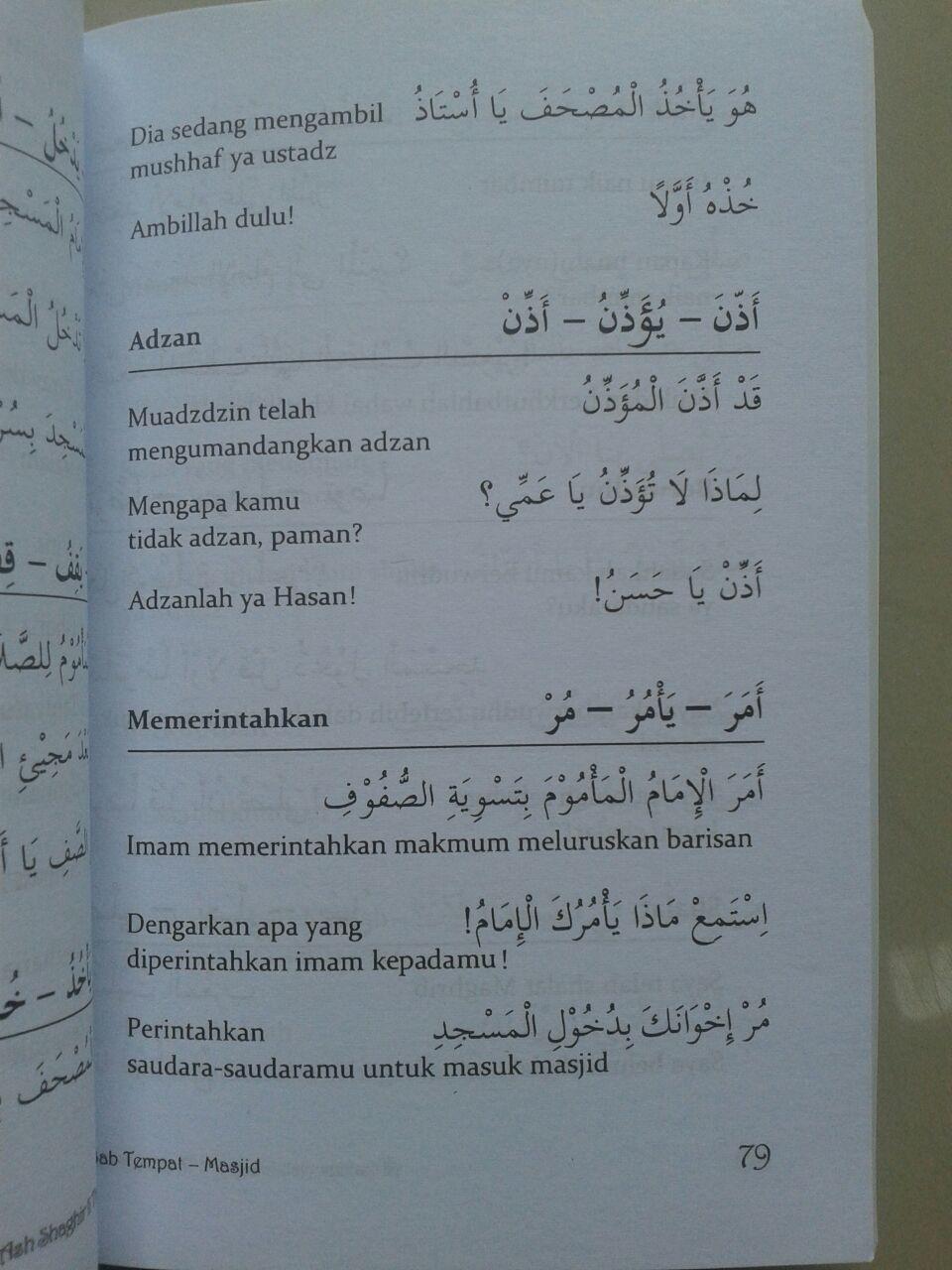 Kamus Arab Indonesia Sehari-Hari isi