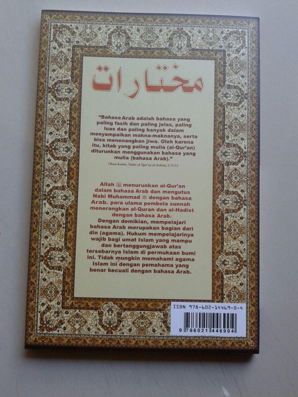 Buku Mukhtarot Ringkasan Kaidah Bahasa Arab cover