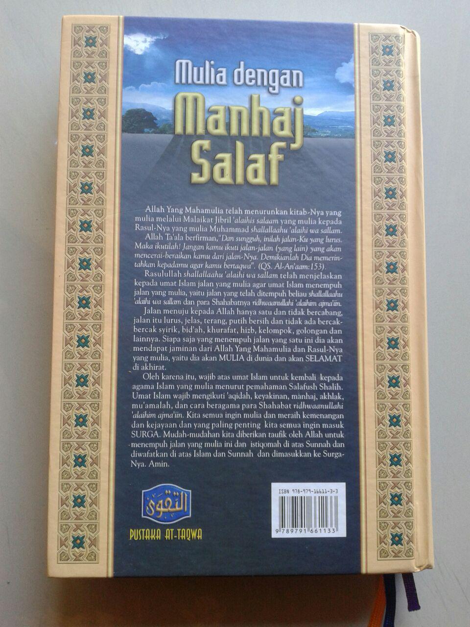 Buku Mulia Dengan Manhaj Salaf cover