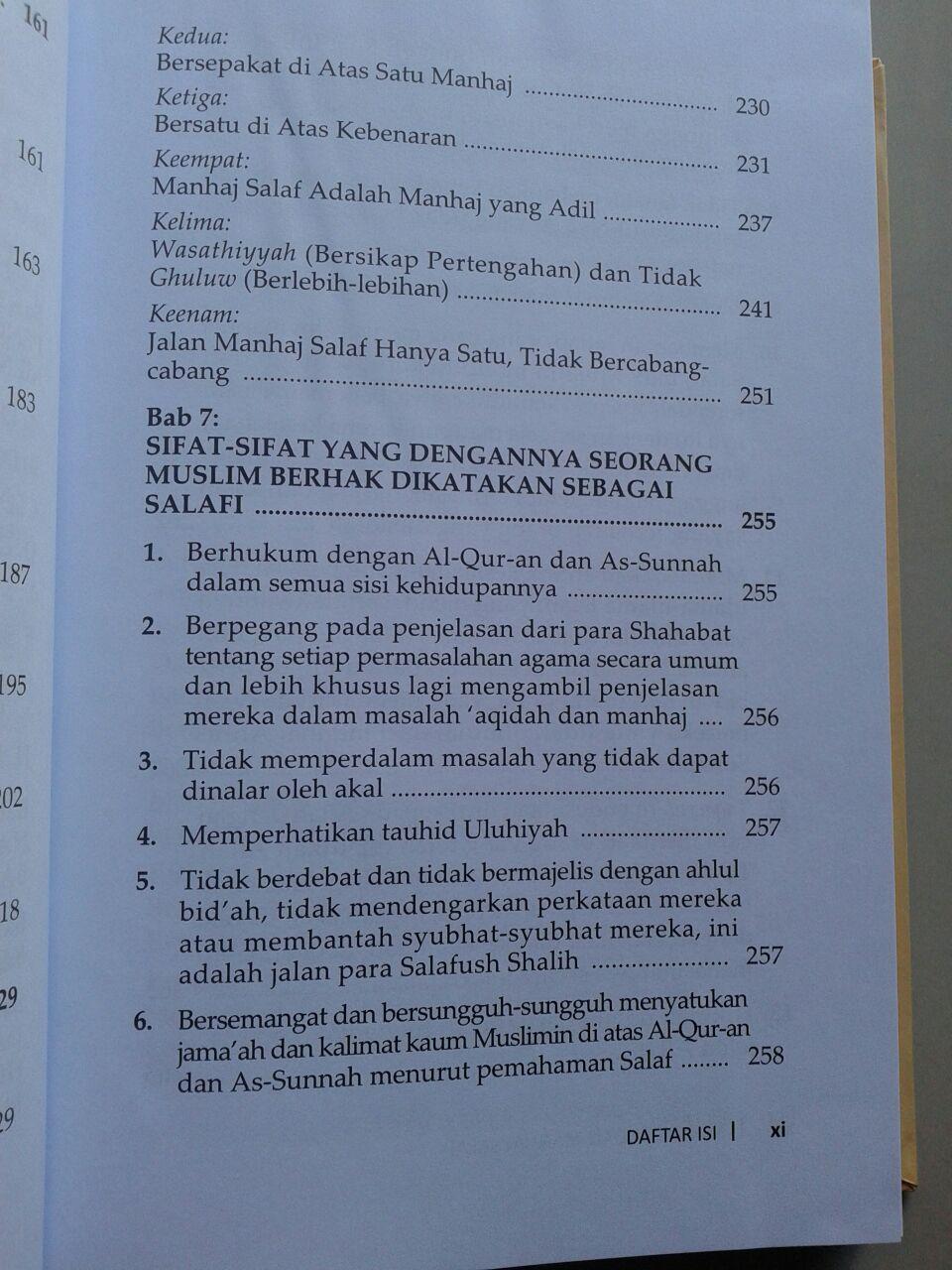 Buku Mulia Dengan Manhaj Salaf isi 2
