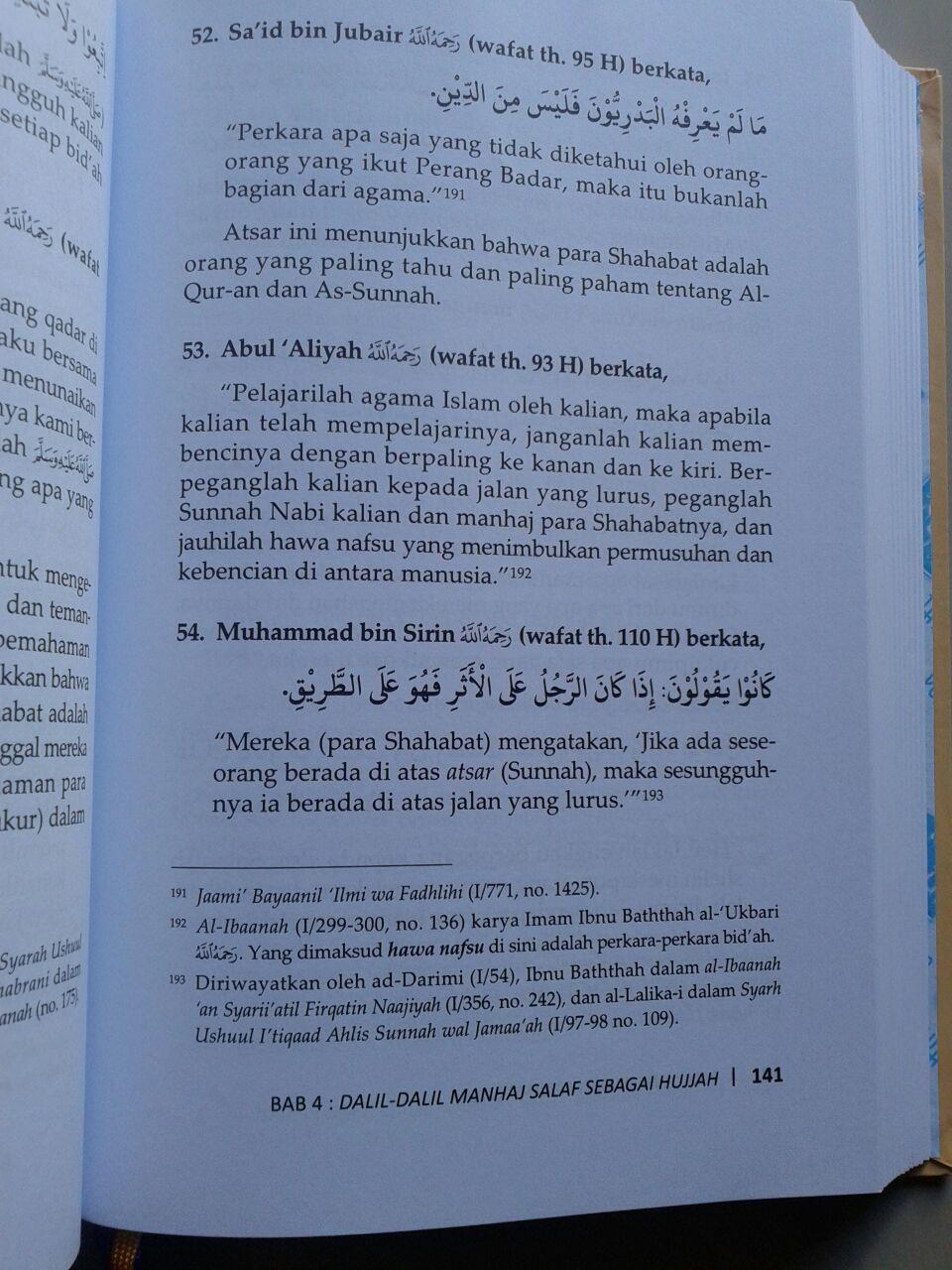 Buku Mulia Dengan Manhaj Salaf isi 3