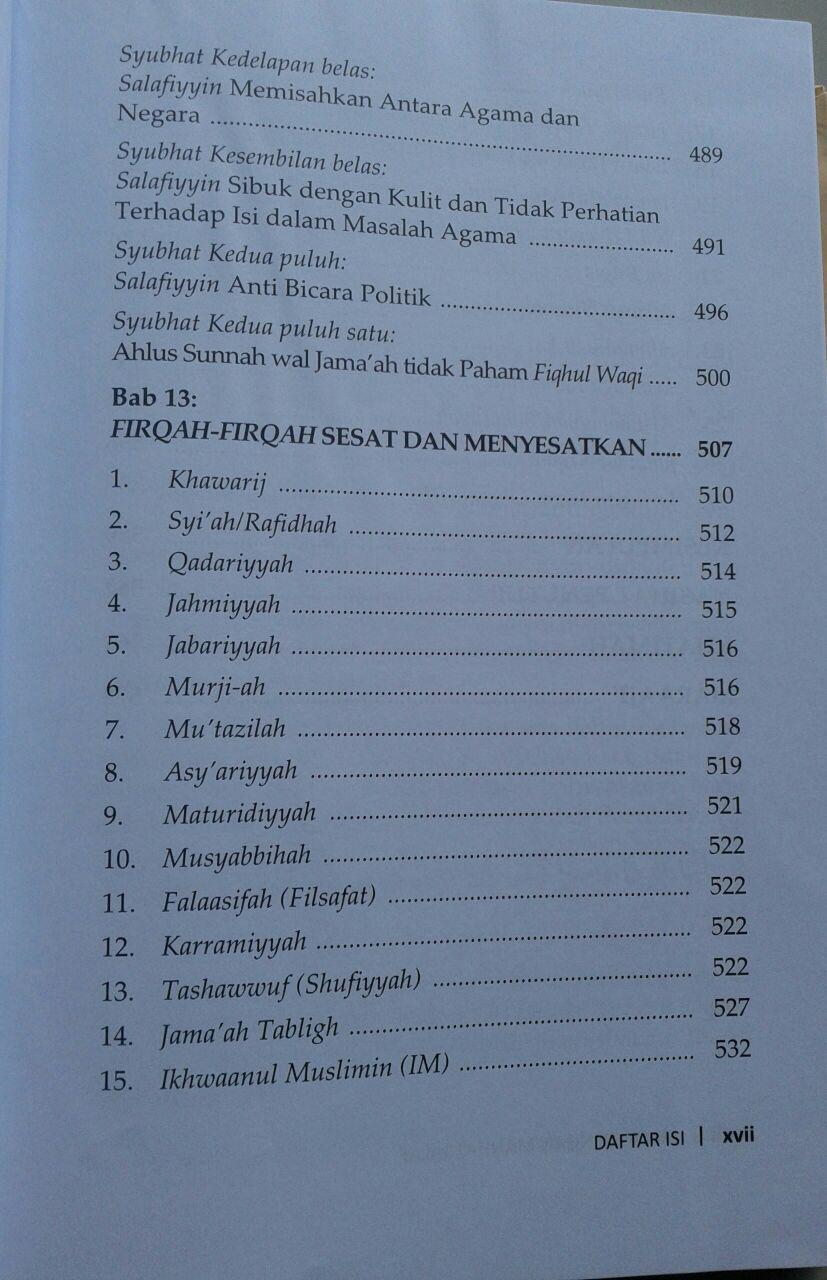 Buku Mulia Dengan Manhaj Salaf isi