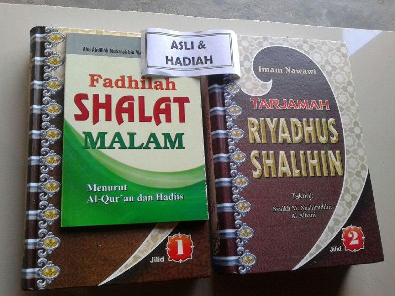 Buku Tarjamah Riyadhus Shalihin Set 2 Jilid cover 3