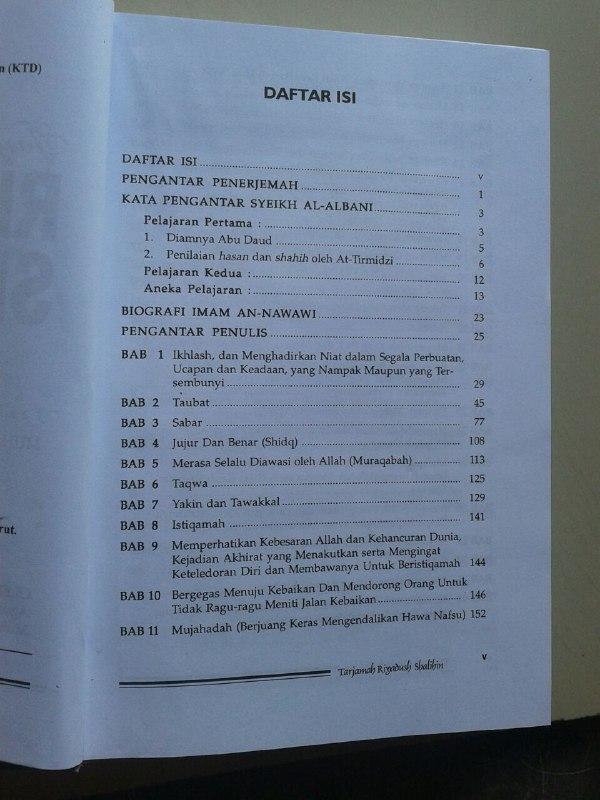 Buku Tarjamah Riyadhus Shalihin Set 2 Jilid isi 2