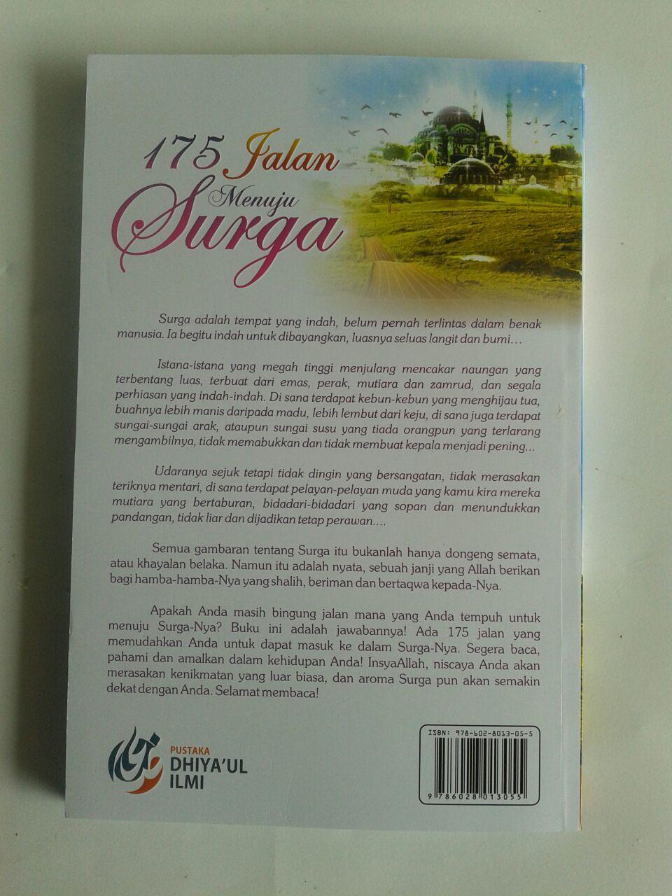 Buku 175 Jalan Menuju Surga cover 2
