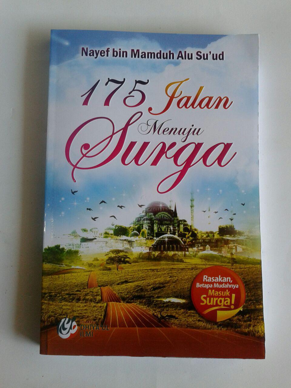 Buku 175 Jalan Menuju Surga cover