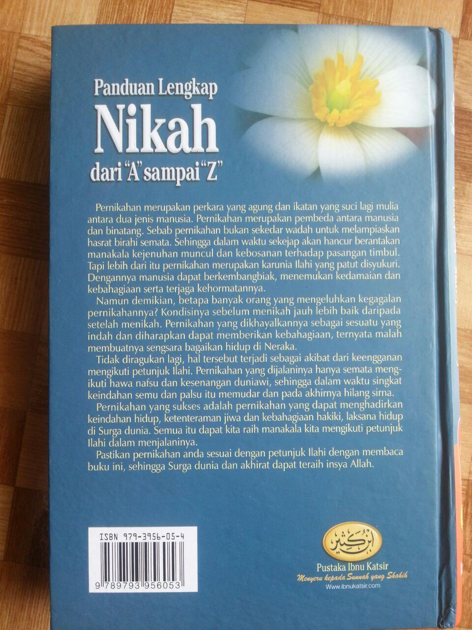 Buku Panduan Lengkap Nikah Dari A Sampai Z cover