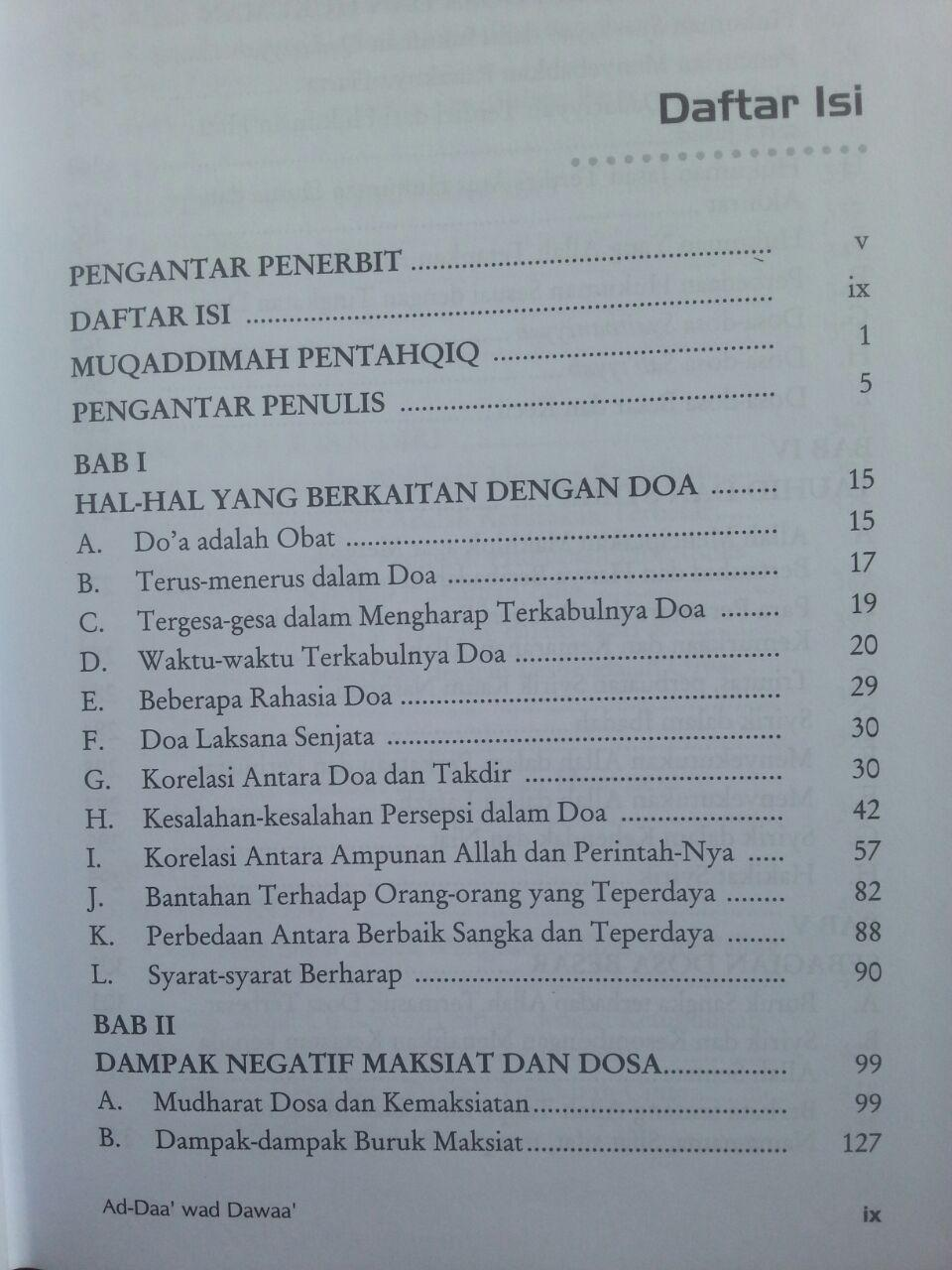 Buku Pengobatan Ad-Daa' wa ad-Dawaa' isi 2