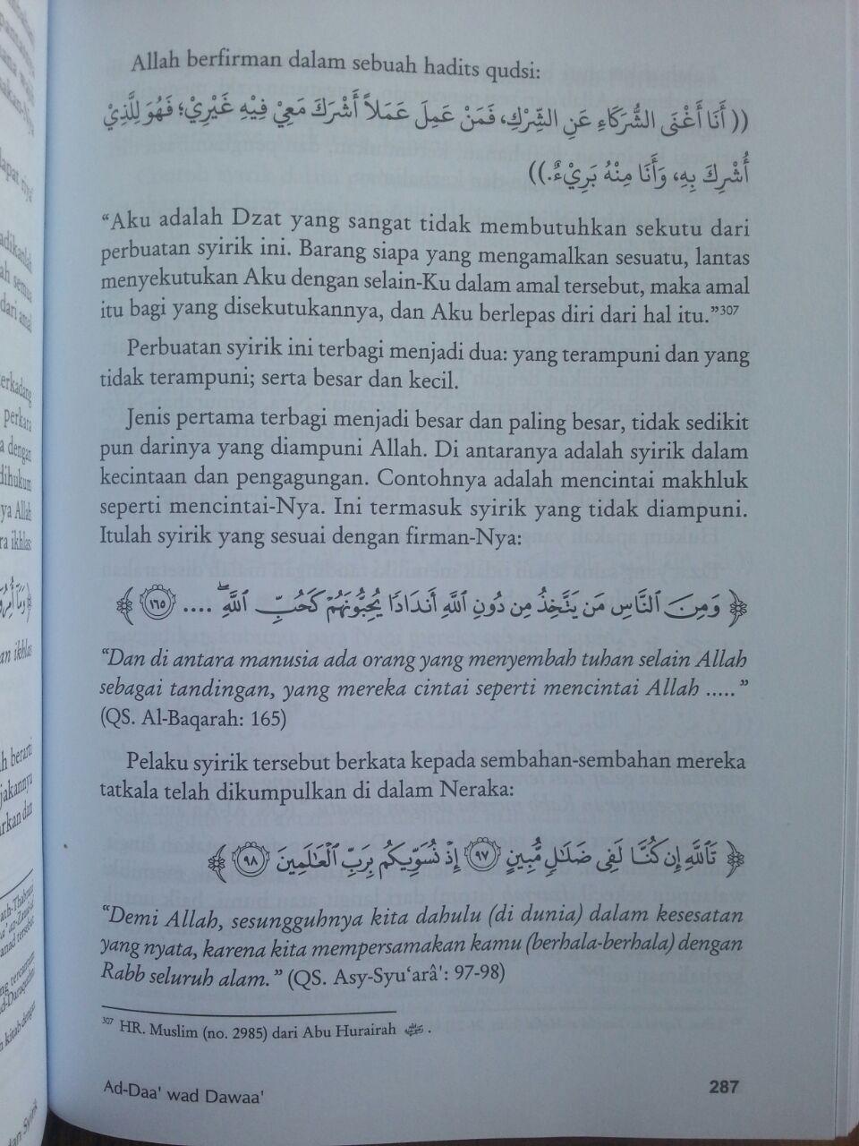 Buku Pengobatan Ad-Daa' wa ad-Dawaa' isi 4