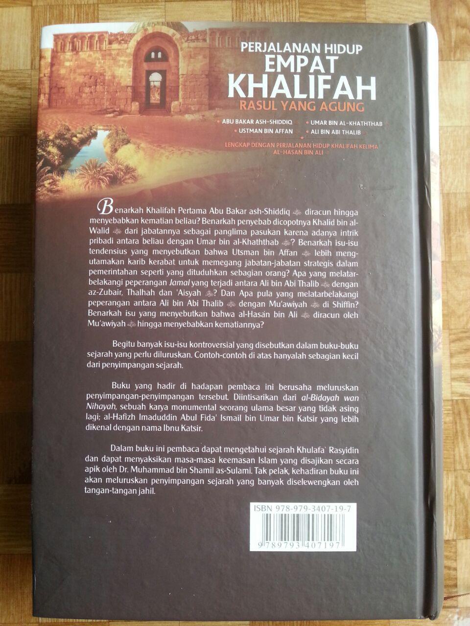 Buku Perjalanan Hidup Empat Khalifah Rasul Yang Agung cover