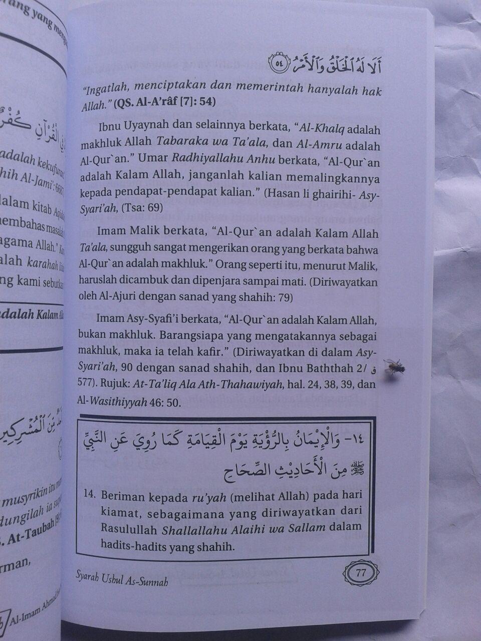 Buku Syarah Ushul As-Sunnah Imam Ahmad Bin Hambal 29,000 15% 24,650 isi