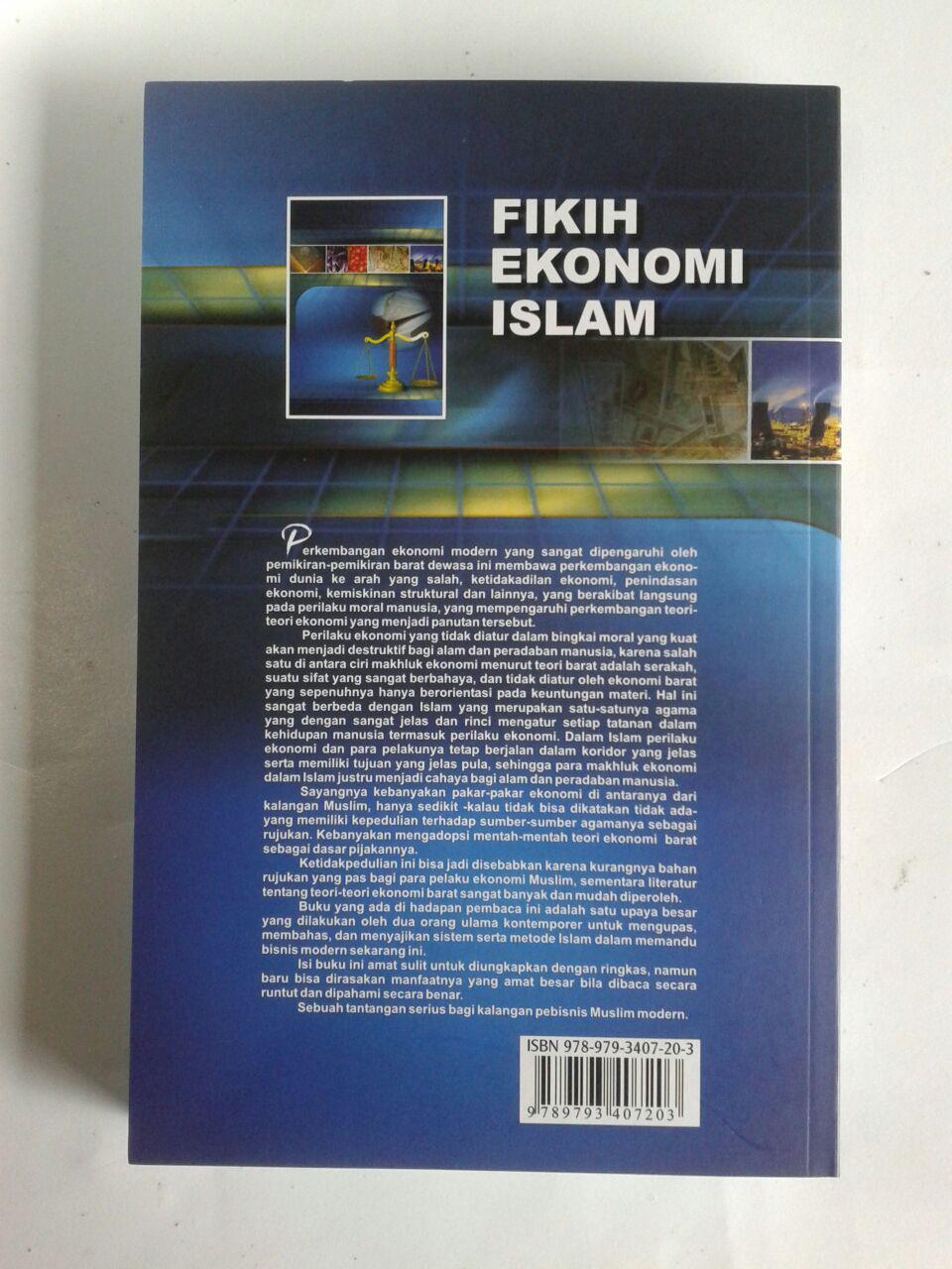 Buku Fikih Ekonomi Islam cover