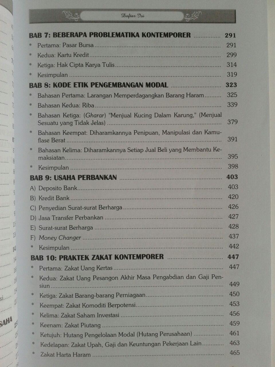 Buku Fikih Ekonomi Islam isi 3