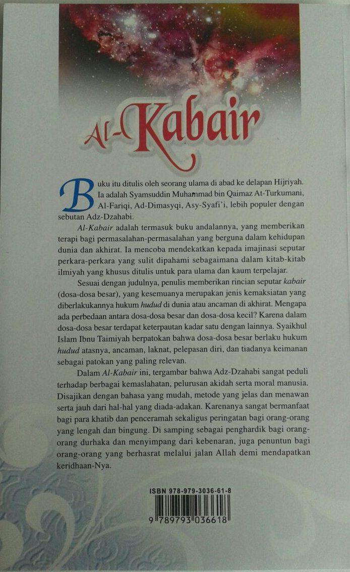 Buku Al-Kabair Galaksi Dosa cover 2