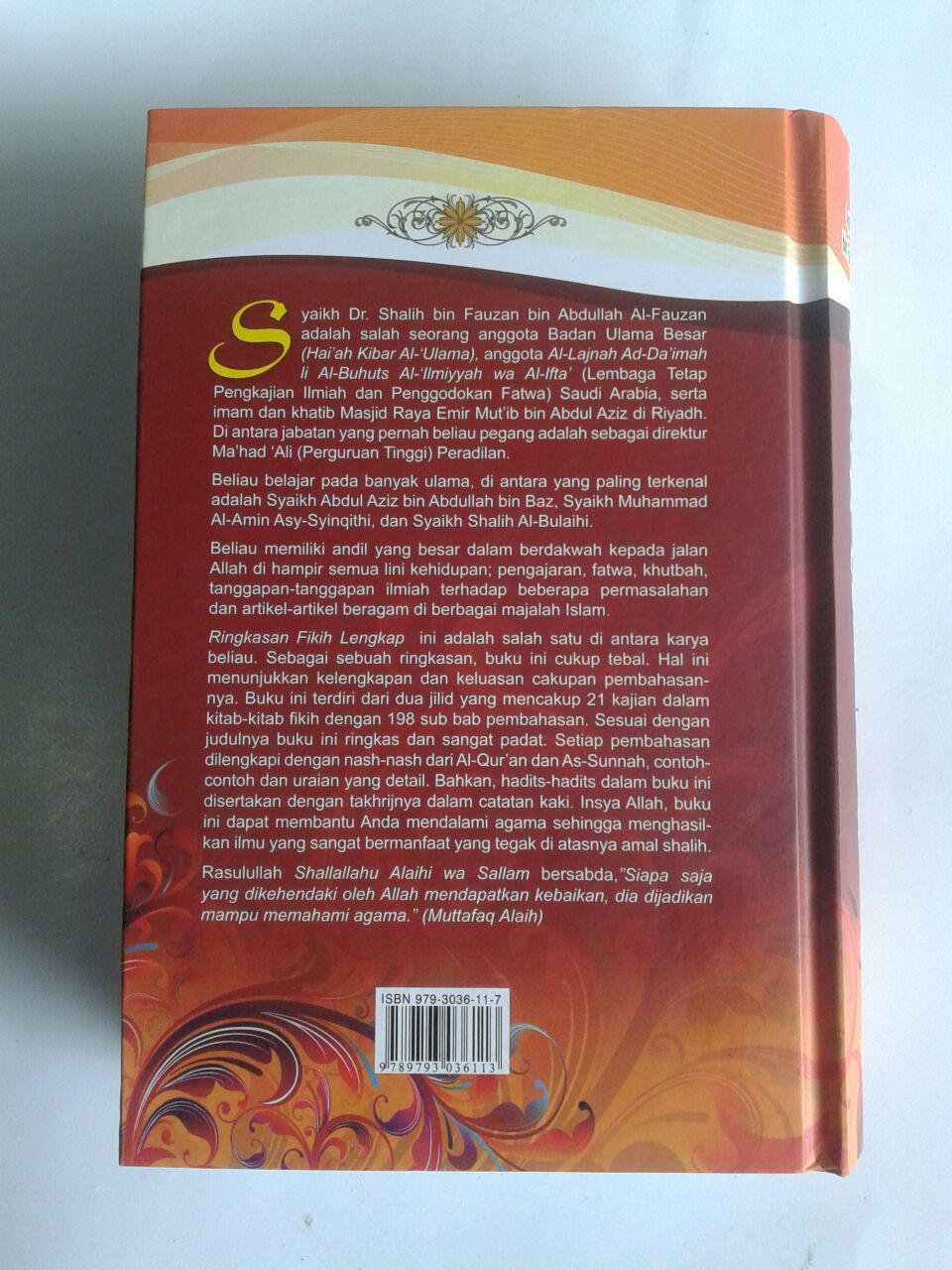 Buku Ringkasan Fikih Lengkap cover