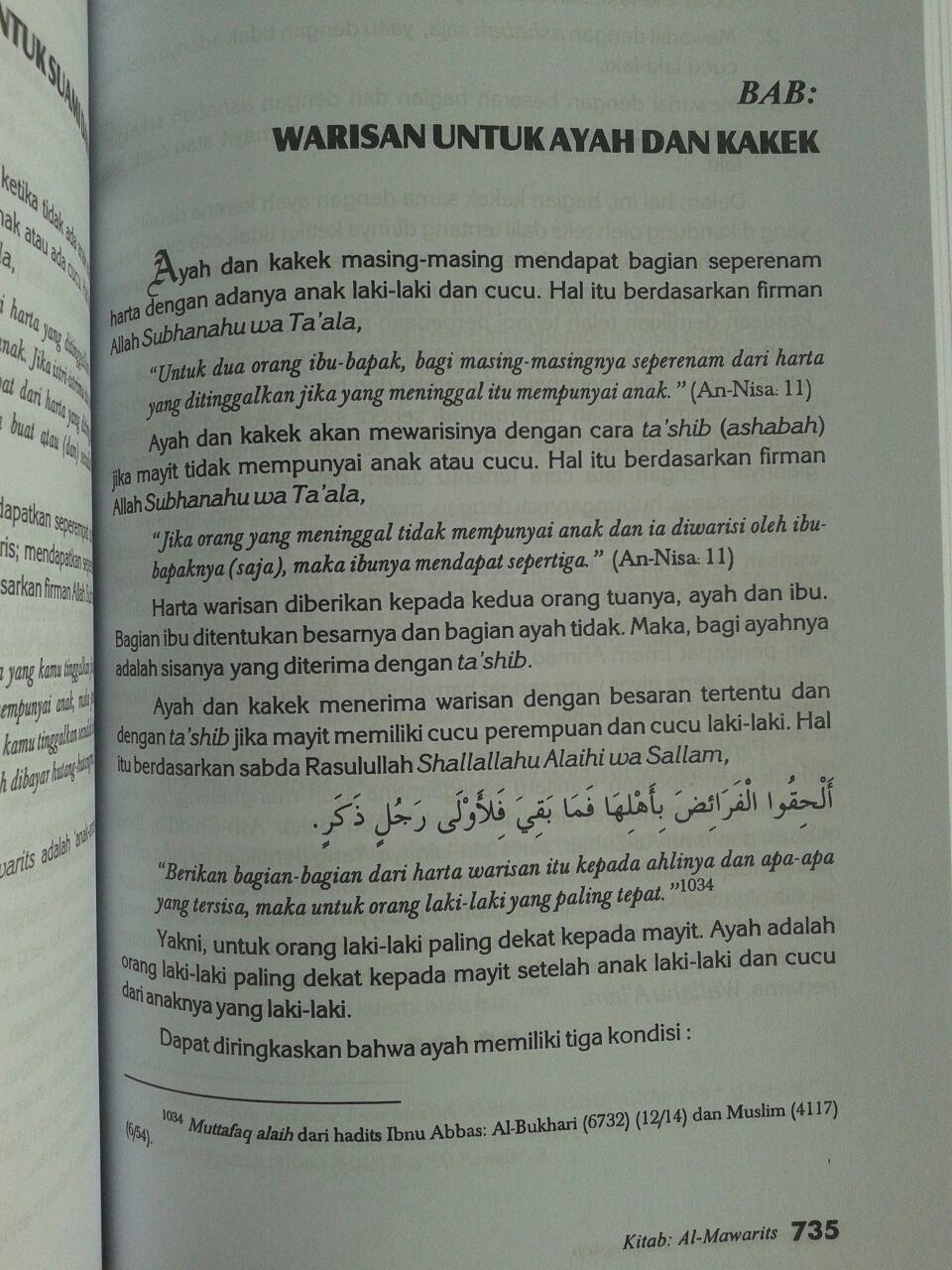 Buku Ringkasan Fikih Lengkap isi 2