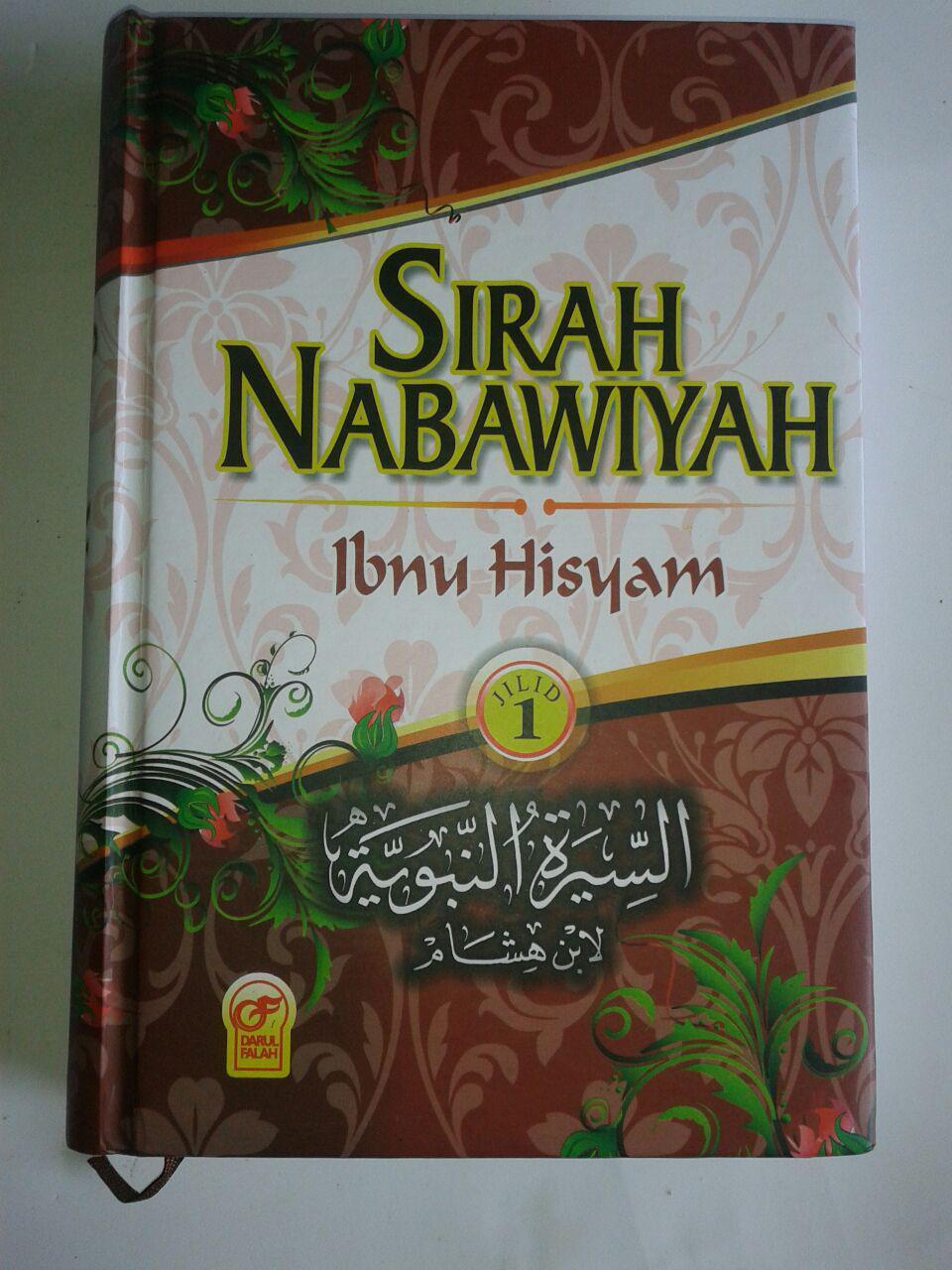 Buku Sirah Nabawiyah Ibnu Hisyam 1 Set 2 Jilid cover 2
