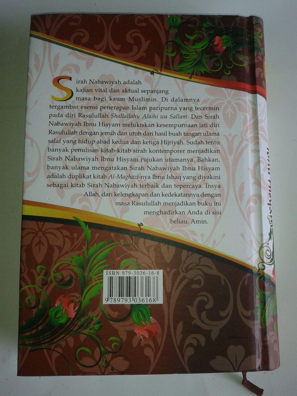 Buku Sirah Nabawiyah Ibnu Hisyam 1 Set 2 Jilid cover