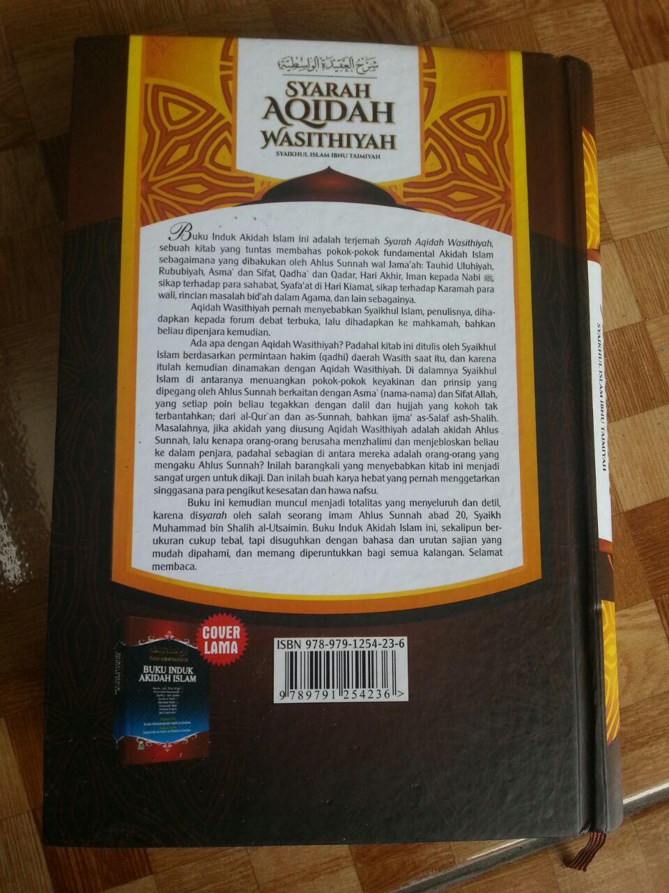 Buku Syarah Aqidah Wasithiyah Induk Akidah Islam cover 2